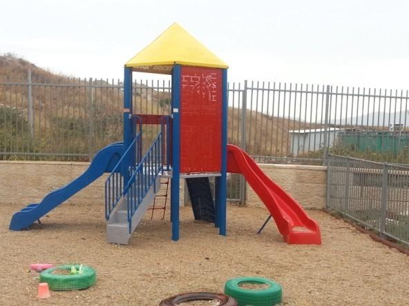 מתקן חצר בגן ילדים