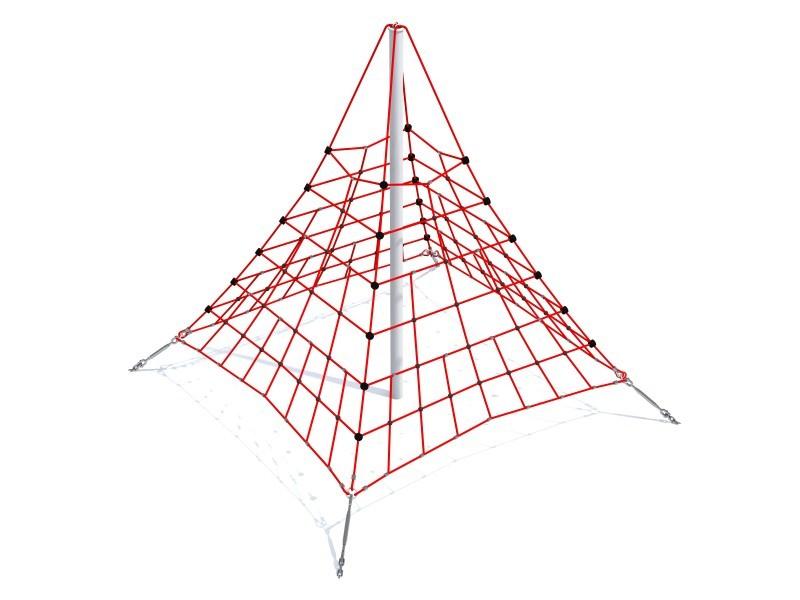 פירמידת חבלים לגנים